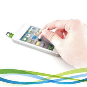 Promotional Pen Mini Jack Plug Color Tip Stylus Pen for Touch Panel Equipment pictures & photos