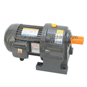0.4kw Shaft Dia. 28mm Geared Motor Horizontal Small AC Gear Reducer pictures & photos