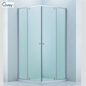 Sliding Shower Enclosure with Adjustable Frame/Customized Glass Door (3-Cvs048)