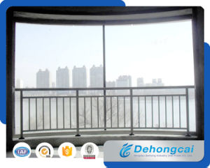 Modern Indoor Galvanized Steel / Wrought Iron Balcony Balustrade for Residential pictures & photos