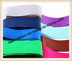 Color Grossgrain Satin Ribbon for Gift Packing (SJ100) pictures & photos
