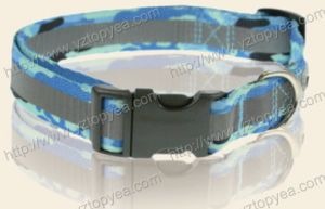 Reflective Printed Nylon Dog Collar, Pet Collar (YD128) pictures & photos
