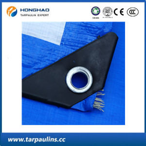Low Price Blue PE Coated Tarpaulin/Tarp Fabric Sheet pictures & photos