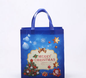 Laminated PP Christmas Xmas Non Woven Shopping Bag Gift Bag pictures & photos