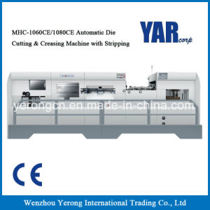 Mhc Series Automatic Die Cutting & Creasing Cutter with Stripping with Heating System pictures & photos