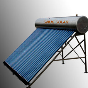 Stainless Steel Pressured Solar Hot Water Heating System pictures & photos