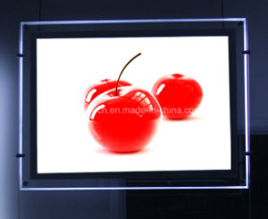 High Illuminated Advertisement Crystal LED Light Box (CSH01-A4L-03) pictures & photos