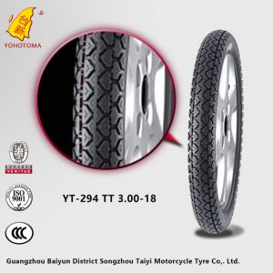Baiyun Motorcycle Parts Market Motorcycle Tire Yt-294 Tt 3.00-18 pictures & photos