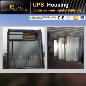 SGS Certificated Shipping Container Sandwich Prefab House Wall pictures & photos