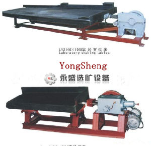 Gold Mineral Equipment/ Gold Concentration Separation Laboratory Shaking Table (LY2100/1050)