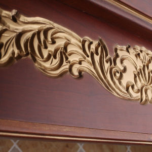 Solid Wooden Kitchen Cabinet for Project (zq-006) pictures & photos