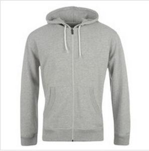 Custom Nice Cotton/Polyester Plain Hoodies Sweatshirt of Fleece Terry (F047) pictures & photos