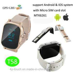 Adult GPS Tracking Device with GPS+Lbs+WiFi Positioning (T58) pictures & photos