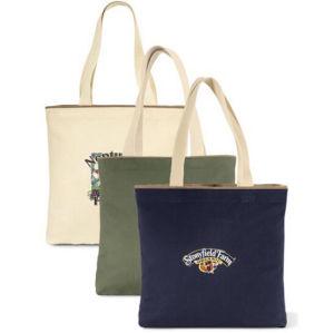 Promotion Wholesale Cotton Hand Bags Women Canvas Beach Tote Bag pictures & photos