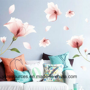 Creative Wall Sticker, Romatic Pink Flower pictures & photos