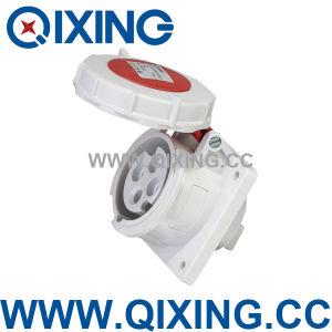 Waterproof Dustproof Panel Mounted Socket (QX222) pictures & photos