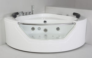 Round Acrylic Indoor Massage Bathtub (JL827) pictures & photos