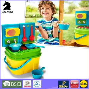 Colorful Reusable Sunshine Children Cooking Set Kid Toy Beach Toys pictures & photos