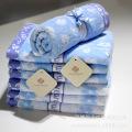 Cotton Jacquard Towel Bathtowel Towellling Coverlet (xinya007)