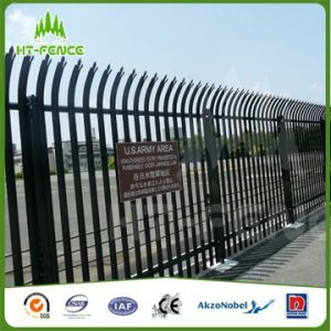 Powder Coating Steel Palisade Fence pictures & photos