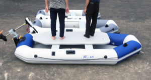 2014 New Design Ce Ceritficate Hypalon/PVC Inflatable Rescue Boat for Sale pictures & photos