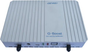 GSM 850 Cell Phone Signal Booster + Antenna (Coverage: 200 Square meters) with FCC Certification pictures & photos