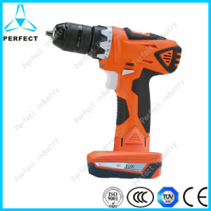14.4/16V High Torque Double Speed Cordless Drill with Lithium-Ion Battery pictures & photos