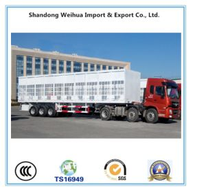 3 Alxe Stake Utility Semi Truck Trailer From China Factory pictures & photos
