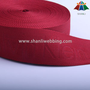 Red Polyester Jacquard Webbing for Backpack, Apparel Accessories pictures & photos
