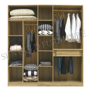 Wooden Wardrobe for Home Bedroom Furniture Set (SZ-WD088) pictures & photos