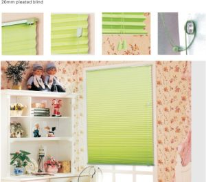 2.0cm Pleated Blind for Window (HB-07) pictures & photos