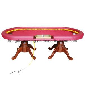 Gun Barrel Foot Texas Poker Table