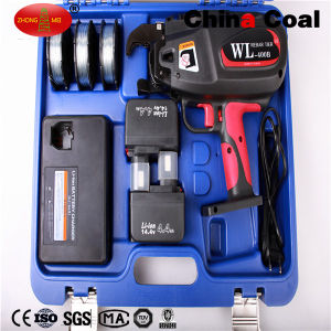 Cordless Li-ion Battery Operated Automatic Max Rebar Wire Tying Machine pictures & photos