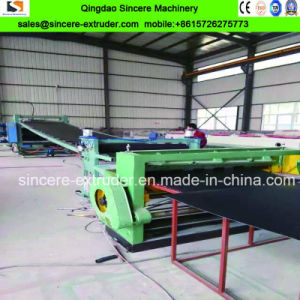 HDPE Geocell Sheet Single Screw Plastic Extruder Production Extrusion Line pictures & photos