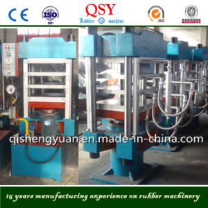 Hydraulic Plate Curing Press Machine Xlb-Dq600X600X3 pictures & photos