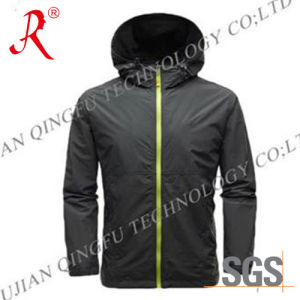 Waterproof and Breathable Ski Jacket (QF-6083) pictures & photos