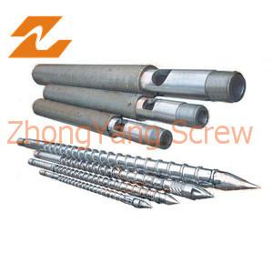 Bimetallic Extruder Screw and Barrel for Plastic Extruder pictures & photos