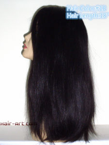 """Top Fashion Kosher Jewish Wigs Wight Length 18""""-Stock pictures & photos"""
