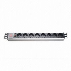 Euro Plug Socket 8-Way 16A PDU pictures & photos