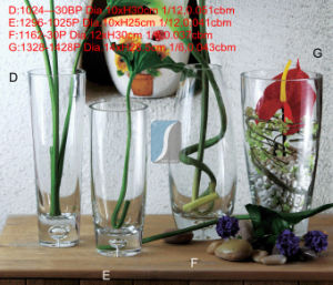 2015 Year China Supplier Home&Garden Flower Glass Vases for Factory Wholesale pictures & photos