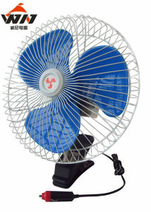 DC12V 10 Inch Semi Seal Car Oscillating Fan pictures & photos