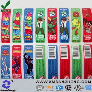 Clear Glossy Self Adhesive Water Resistan Full Color Barcodes Stickers pictures & photos