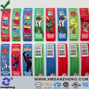 Color Barcode Sticker (SZ3066) pictures & photos