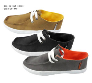 New Style Men Casual Shoes with Injection (HHQB2) pictures & photos