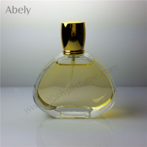 Hot Sale Class Perfume Bottle with Plastic Electroplating Cap pictures & photos