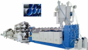 Double-Wall Corrugated Pipe Extruding Machine pictures & photos
