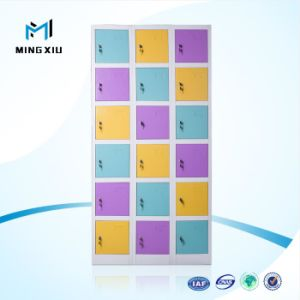 Mingxiu 18 Door Colorful Cheap Gym Metal Locker / Steel School Locker pictures & photos