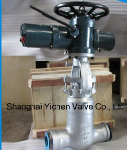 on off Motor Operated Welding Gate Valve pictures & photos