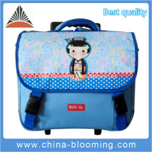 Trolley Rolling Travel Student School Backpack Book Bag pictures & photos