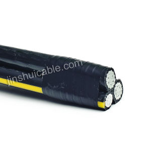 Three Cores Twisted Aluminum Cable pictures & photos